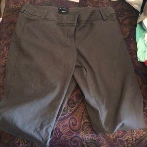 The Limited gray brown 6L Slacks